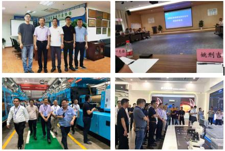 搭平台、促合作,安徽省家电协会莅临市家电协会并考察奥克斯